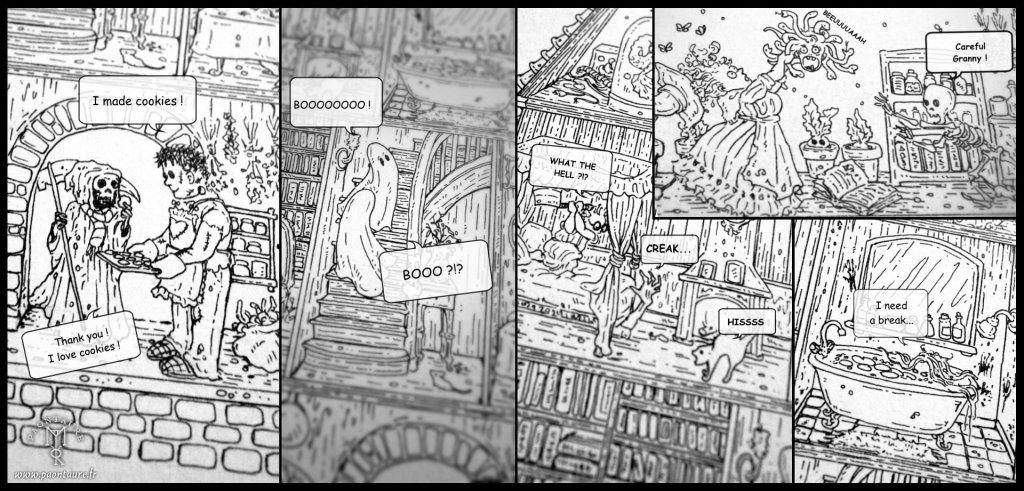 Mansion Sketches 2020 © Paontaure