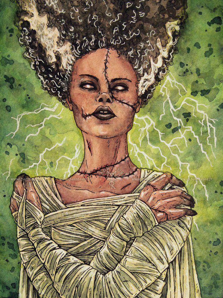 La fiancée de Frankenstein - 2020 ©Paontaure
