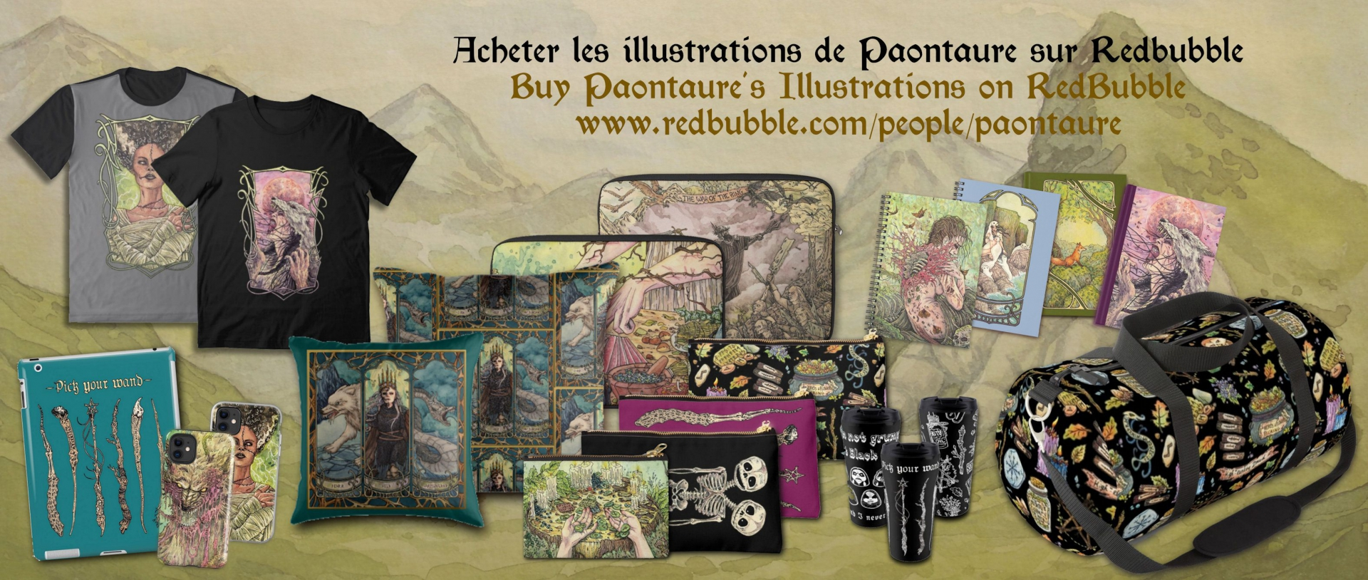 Paontaure on Redbubble